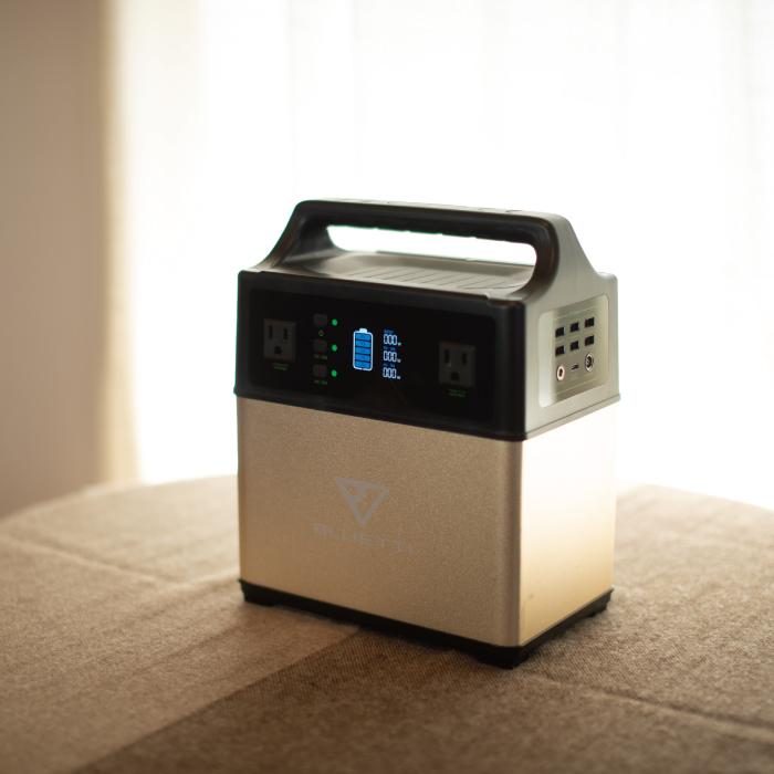 ポータブル蓄電システム「EB40」